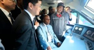 Amaechi inspecting train services