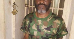 Master Warrant Officer (MWO) Michael Oyebanji